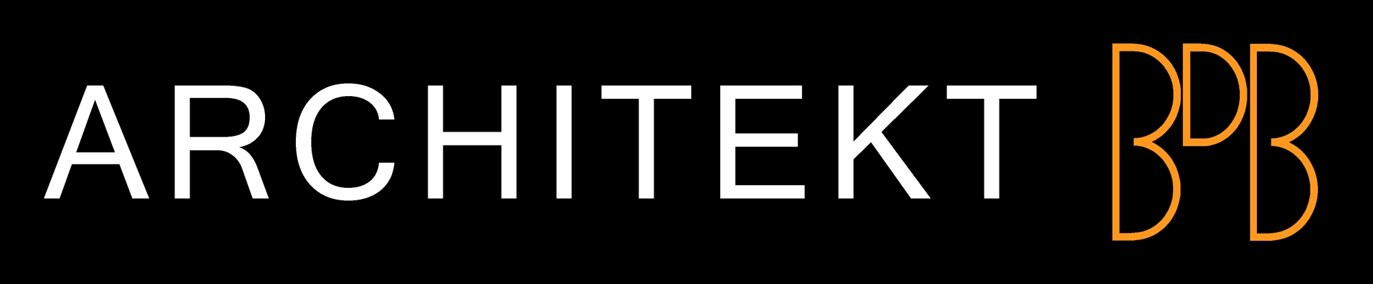 Logo Architekt BDB (schwarz ohne Rahmen,2000x414)