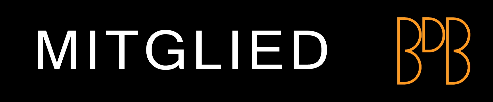 Logo Mitglied BDB (schwarz ohne Rahmen, 2000x414)