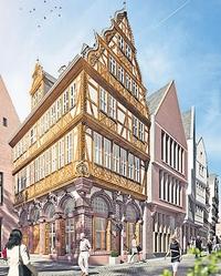 Modell des Hauses 'Goldene Waage' (web 200x249)_DomRömer