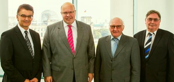 15_09_04 BDB-Bund, IW-Bund im Dialog mit Minister Peter Altmaier(web 600x286)_BDB-Bund