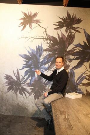 """Kai Brehm, Scenario Wohnen +Bauen: """"Im Trend: florale und großformatig in Szene gesetzte Gestaltungselemente"""" Foto: Anne Berger"""