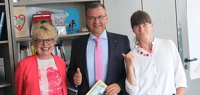 Immoskandal September 2019 - Edda Rössler (Roessler ProResult), Jürgen Hoffmann (Bürgermeister Rodgau), Effi B. Rolfs (Die Schmiere)