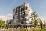 PRAEDIUM: Ein neues Wahrzeichen für das Frankfurter Europaviertel Foto: Nassauische Heimstätte/ Dirk Metzner
