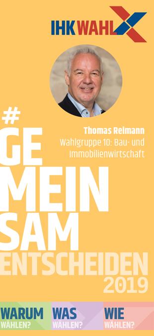 IHK-WAHL 2019: WG 10: Thomas Reimann