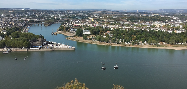 Wein-Tages-Schifffahrt Mittelrhein und Rheingau – von Koblenz bis Rüdesheim